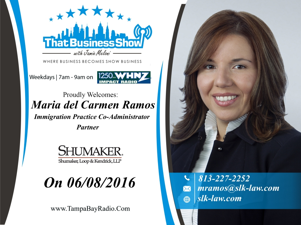 Maria del Carmen Ramos Showcard